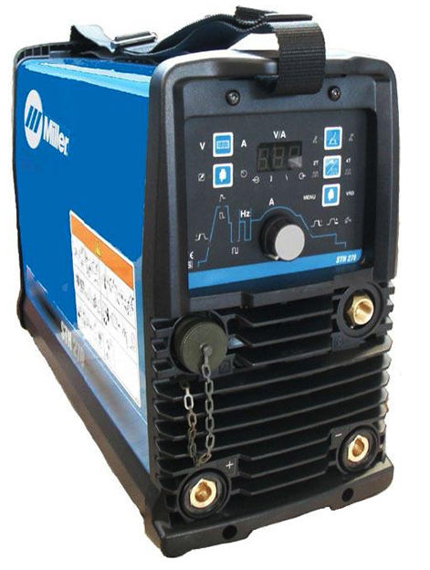 Miller STH 270 Pulsed Tig Welder, Water Cooled Package, 400v 3ph